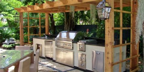plans for outdoor kitchen 10 outdoor kitchen plans turn your backyard into