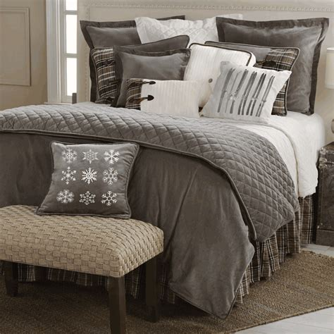 cable knit bedding king rustic bedding king size silver mountain bed set black