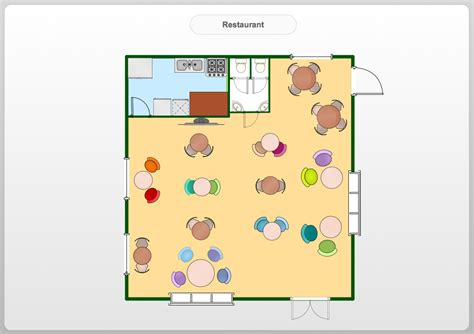 floor plans for a restaurant restaurant floor plans software design your restaurant