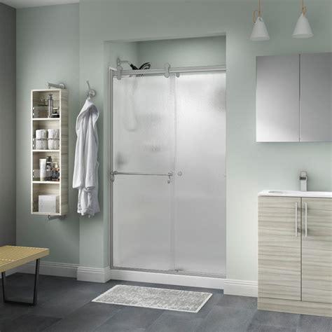 contemporary shower doors delta portman 48 in x 71 in semi frameless contemporary