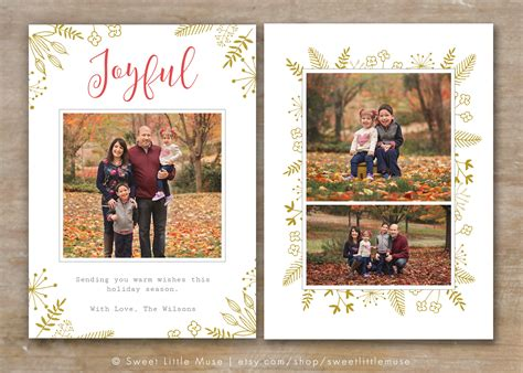 free christmas card templates for photographers best