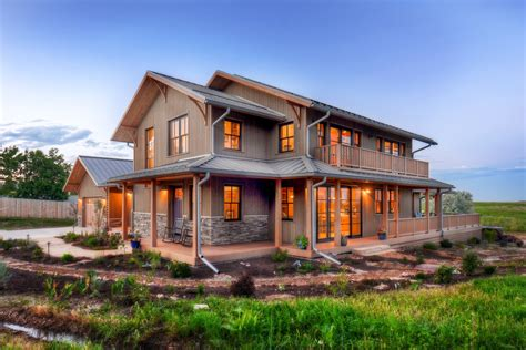 eco farmhouse plan function meets a right sized green home boulder