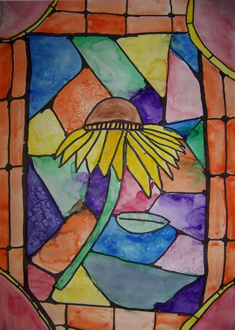 4th grade craft projects 4th grade paper stained glass project ideas