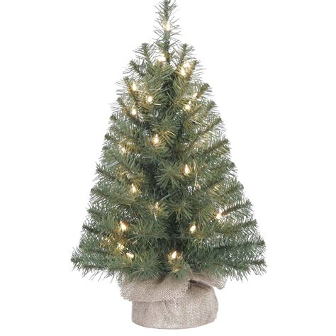 walmart tabletop trees set of 2 clear frosted glass table top trees