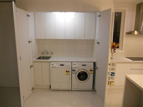 Half Bathroom Decorating Ideas laundries contemporary laundry room melbourne by
