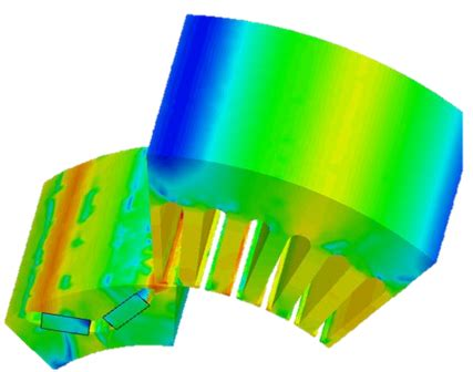 Electric Motor Simulation by Accurate Electric Motor Performance Cfd