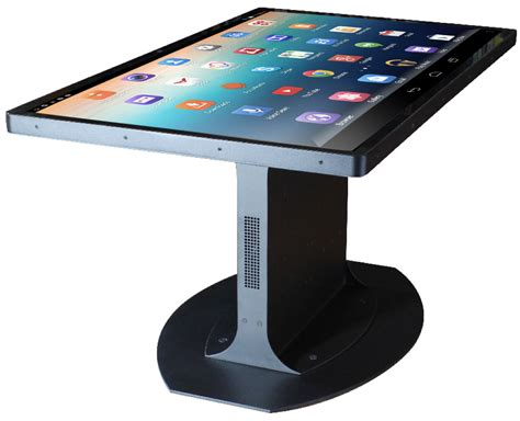 46 inch touchscreen coffee table runs android