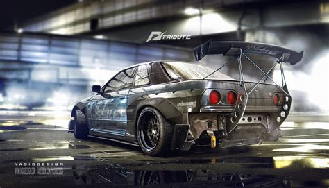 Car Wallpaper Deviantart by Need For Speed Tribute Nissan Skyline R32 By Yasiddesign