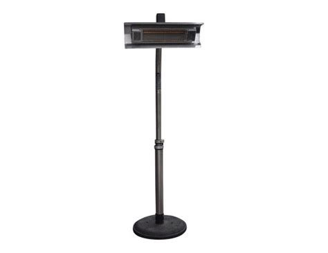 mojave sun patio heater mojave sun stainless steel electric patio heater the