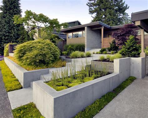 concrete garden walls 79 ideas to build a retaining wall in the garden slope