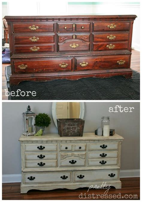 chalk paint distress before or after wax upcycle dressers and wax on