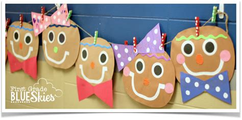 gingerbread crafts for gingerbread craft read and writing