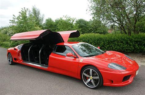 "Limousine Cars "" Ferrari F360 "" Limo Supercars"