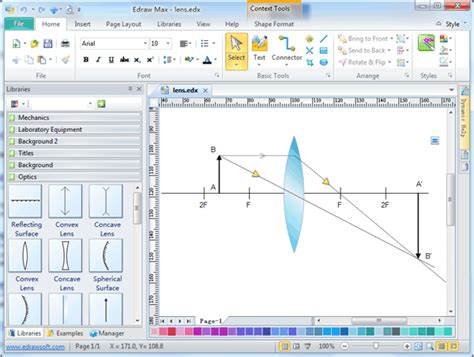 drawing programs optics drawing software free exles and templates