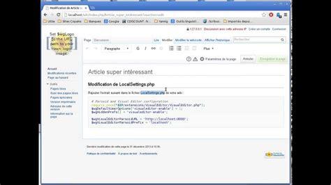 Modification Article by Modification D Un Article Dans Wikimedia 224 L Aide De