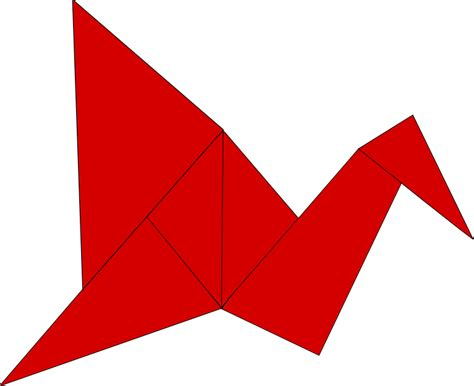 File Origami Bird Png Wikimedia Commons