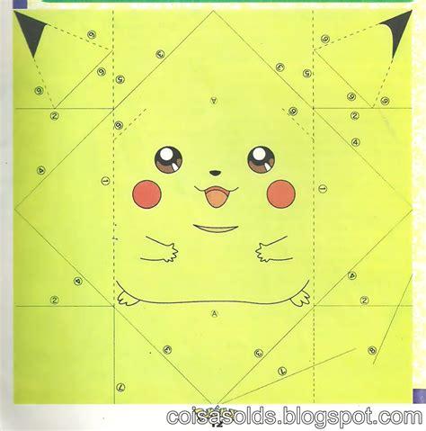 origami pickachu origami pikachu 171 embroidery origami
