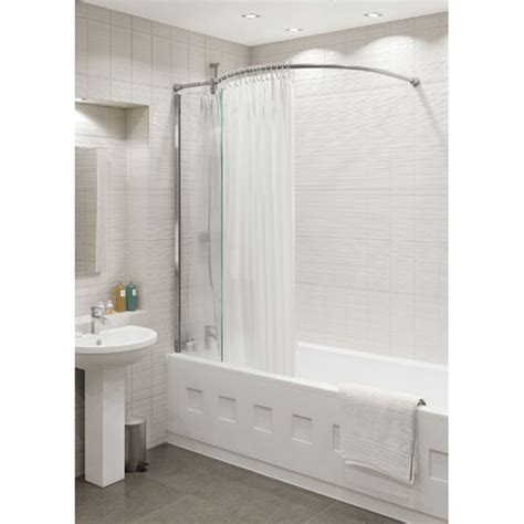bath shower rails bath shower curtain rail soozone