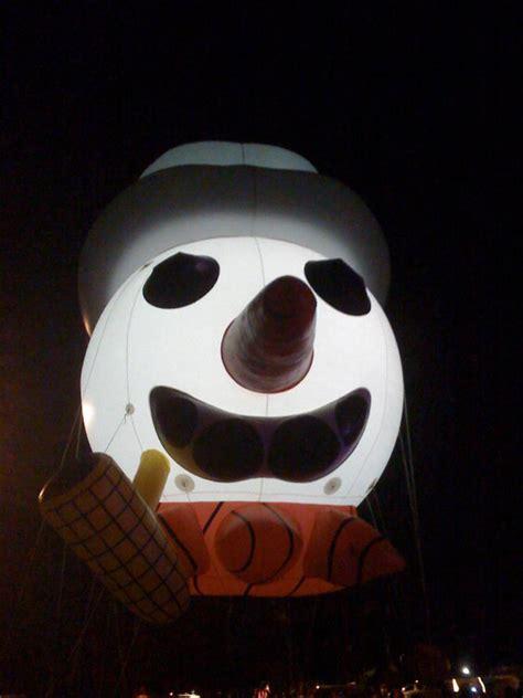 illuminated snowman 15 illuminated snowman custom balloons