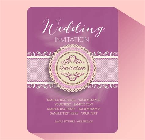 how to make a wedding invitation card wedding invitation card templates free vector in adobe