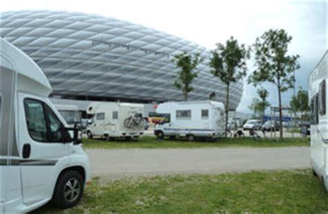 Wohnmobilstellplatz Englischer Garten München by Wohnmobilstellplatz Allianz Arena Muenchen Deutschland