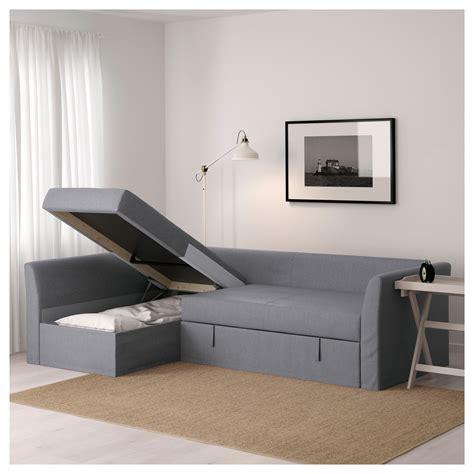 corner sofa beds ikea holmsund corner sofa bed nordvalla medium grey ikea