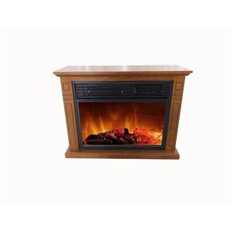 Home Depot Electric Fireplaces by Hampton Bay Cedarstone 3 Element Infrared Electric