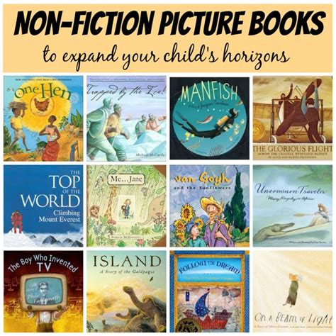 nonfiction picture books for non fiction books