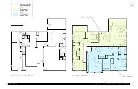 100 two storey residential building floor plan