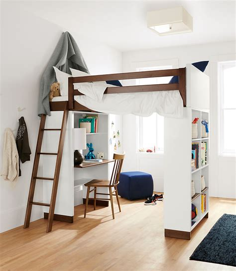 loft beds with desk for moda modern wood loft moda loft beds with desk and