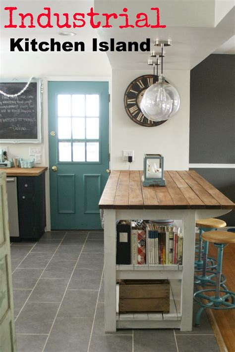 industrial kitchen island my industrial look kitchen island and that time i messed
