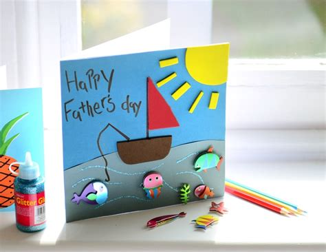 fathers day card for to make fathers day cards crafts site about children