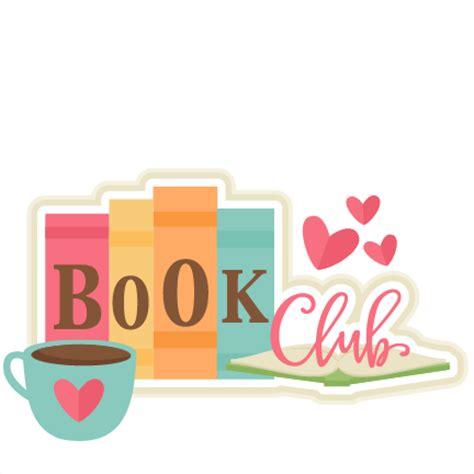 book club pictures book club title svg scrapbook cut file clipart files