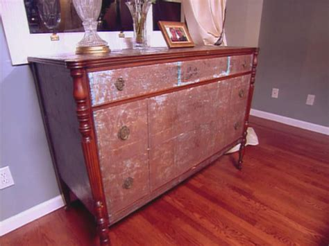 decoupage dresser decoupage ideas for furniture hgtv