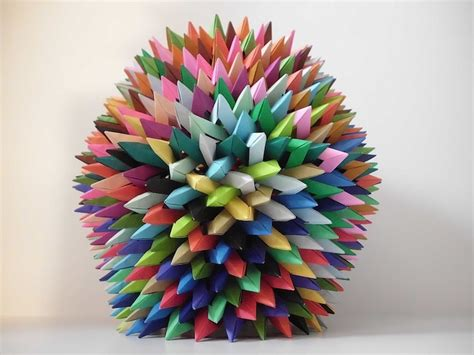 modern origami paper interlocking origami and prisms by byriah loper my