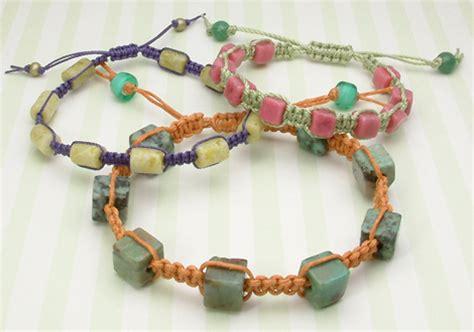 how to make macrame jewelry how to make a macrame bracelet jewelryrage