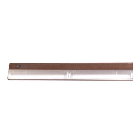 shop acclaim lighting 24 in hardwired cabinet fluorescent light bar at lowes