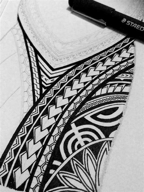 polynesian half sleeve tattoo design on behance