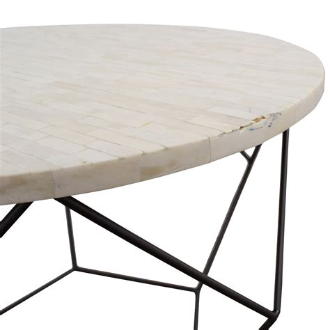 west elm origami table 42 west elm west elm origami bone coffee table tables