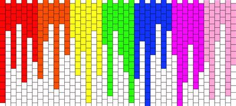 melting patterns melting rainbow pony bead patterns misc kandi patterns