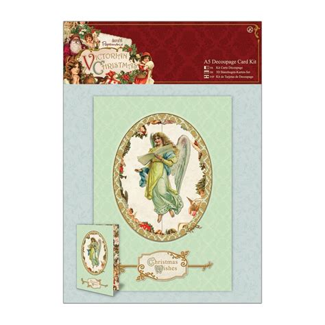 decoupage card a5 decoupage card kit docrafts from
