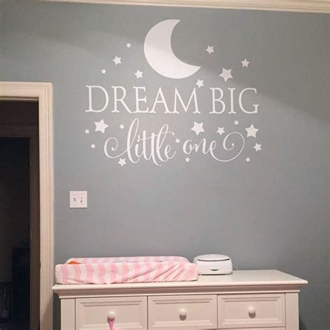 nursey wall stickers big one quotes wall decal nursery wall