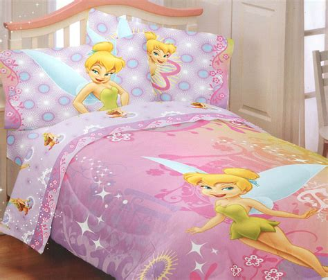 disney bed sheets tinkerbell whimsy bedding set 4pc disney fairies
