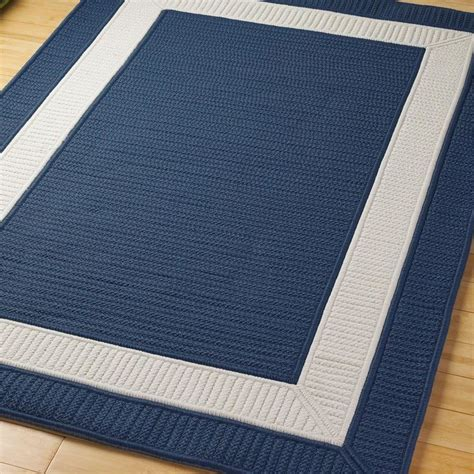 navy blue outdoor rug border braided indoor outdoor rug colors outdoor rugs