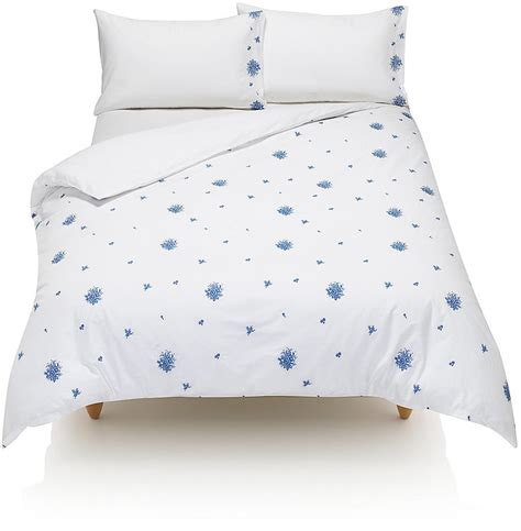 marks and spencers bedding sets marks and spencer ditsy embroidered bedding set