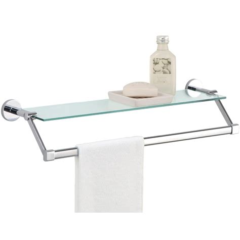 glass shelving bathroom towel rack with shelf glass in bathroom shelves