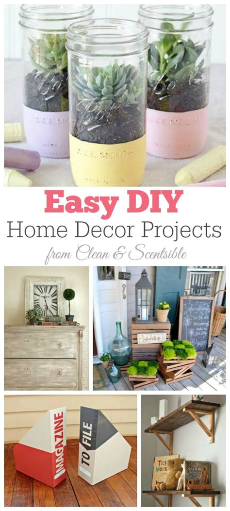 diy crafts projects for home friday favorites diy home decor projects clean and
