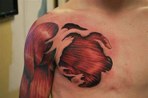 8 muscles tattoo designs