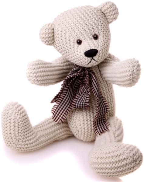 knit teddy bears knotty knitted teddy free delivery