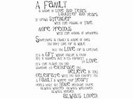 Wedding Poems About Family